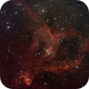 Heart Nebula (bad data),                                Tyler Jackson Welch