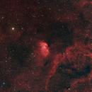 Tulip Nebula in Ha(R+Ha)GB,                                Matt McBee