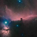 IC434 - Barnard 33 The Horse Head and Flame Nebula,                                Edward Overstreet