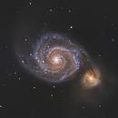 M51 - Whirlpool Galaxy,                                Ara