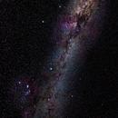 Milky Way - Orion - Barnard's Loop - Rosette Nebula,                                KiwiAstro