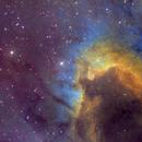 Sh2-155 - The Cave Nebula HORGB Image,                                Eric Coles (coles44)