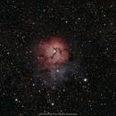 M20 (NGC6514) Trifid Nebula,                                brad_burgess