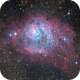 Lagoon Nebula - First Pixinsight Process + Additional,                                HaydenAstro(NZ)