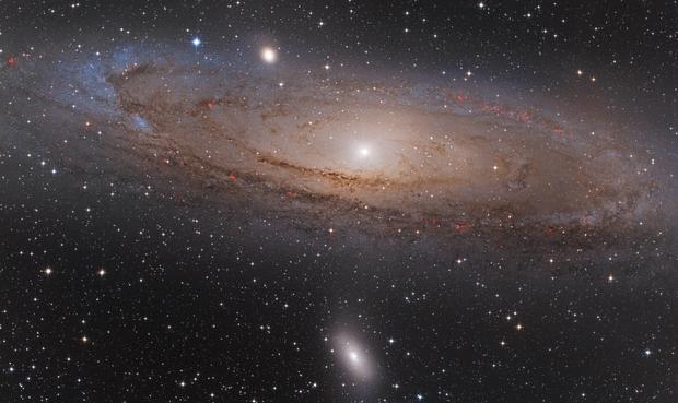 Andromeda Galaxy Mosaic,                                Scott Tucker