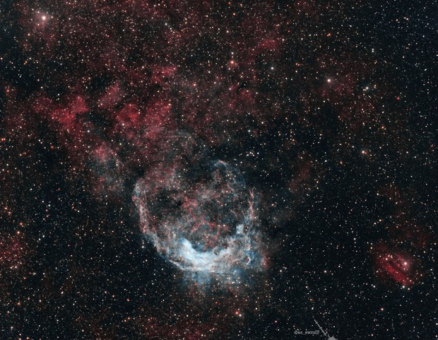 Galactic Banana NGC 3199 (HOO),                                Todd