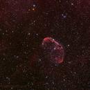 crescent nebula,                                tobiassimona