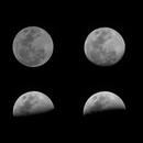 Waxing Moon Timleapse Video,                                IzaakC