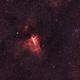 Swan nebula,                                Joe Beyer