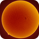 H-Alpha Sun 30th May 2018,                                Thomas Klemmer