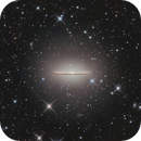 M104, The Sombrero Galaxy,                                Benjamin Csizi