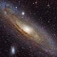M31 Andromeda HaLRGB,                                midnight_lightning