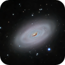 M64 the Black Eye Galaxy,                                Greg Nelson