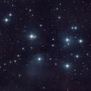 M45 - Pleiades,                                Bert Moyaers
