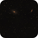 Bode's Galaxy and the Cigar Galaxy (M81 & M82),                                Van H. McComas
