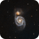 M51 The Whirlpool Galaxy in LRGB,                                Eshan Toorabally