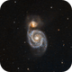 M51 The Whirlpool Galaxy in LRGB,                                Eshan Toorabally