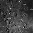 Apollo 11 & 16 landing sites in one frame.,                                David Haviland