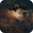 M16 Eagle Nebula,                                bilgebay