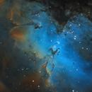 Eagle Nebula (M16) in Serpens,                                Steve Milne