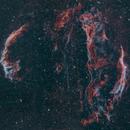 Great Cygnus Loop,                                James R Potts