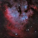 NGC7822 in Cefeo (HOO),                                nicolabugin