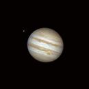 Jupiter, the big red spot and Europa,                                Fabrizio Sitzia