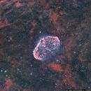 NGC 6888 Crescent Nebula,                                Steve Bemmerl