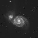 M51 luminance with RASA 8 and ASI183MM, pls zoom in,                                Nikolay Kondrashov