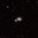Whirlpool Galaxy - M51,                                Alexandra Browne