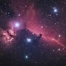 The Flame and Horsehead Nebulas,                                blairconner
