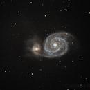 M51 Whirlpool galaxy,                                RononDex