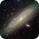 M31, M32, NGC205 The Andromeda Galaxy,                                hbastro