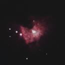 Central region of the Orion Nebula M42,                                gigiastro