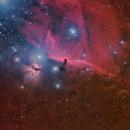 IC 434 Horse Head Nebula LRGB (with some clouds)+ H-Alpha,                                Alberto Pisabarro