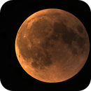 Lunar eclipse 2018 - End total phase,                                Rudolf Bumm