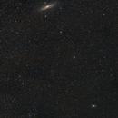 Constellation Andromeda Widefield M31 & M33,                                Siegfried