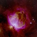 M42 (Great Nebula in Orion) in Narrowband,                                Linwood Ferguson