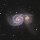 M51 - Whirlpool Galaxy,                                Riccardo Balia