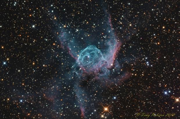 NGC 2359 – Thor's Helmet,                                Terry Robison