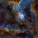 IC 1805 - The Heart Nebula,                                Michael J. Mangieri