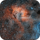 Sh2-132 The Lion nebula,                                Santiago Rodrígue...