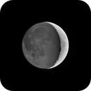 Lunar Earthshine HDR,                                Brent Newton