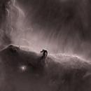 Horse nebula IC 434 Starless Ha,                                Philippe Oros