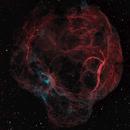 3D Fly-in -- Simeis 147 / sh2-240 / Spaghetti Nebula (HaO3RGB),                                Nico Carver