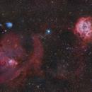 NGC2264 & NGC2237,                                Yokoyama kasuak