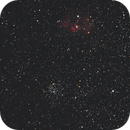Bubble and m52,                                Karl