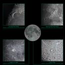 Moon and a few features,                                Shobhit Raj