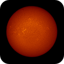 Sun from Coronado PST H-alpha and SDO Observatory at same time.,                                Star Hunter