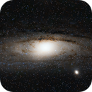 Messier 31 / First time Processing in PixInsight,                                LOL221